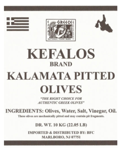 Kefalos Olives
